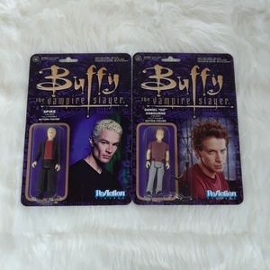 Buffy the Vampire Slayer Spike & Oz figures